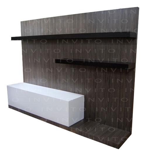 Invito muebles minimalistas interiorismo decoraci n de for Mueble para tv contemporaneo