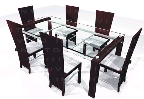 Invito muebles minimalistas muebles a la medida muebles for Comedores modernos para 4 personas