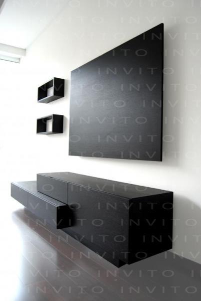 Invito muebles minimalistas muebles a la medida muebles for Muebles para tv en recamara