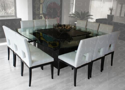Invito muebles minimalistas muebles a la medida muebles for Comedores minimalistas de cristal