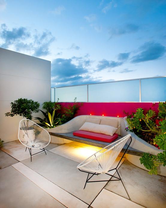 Invito muebles minimalistas interiorismo decoraci n de - Accesorios para terrazas ...