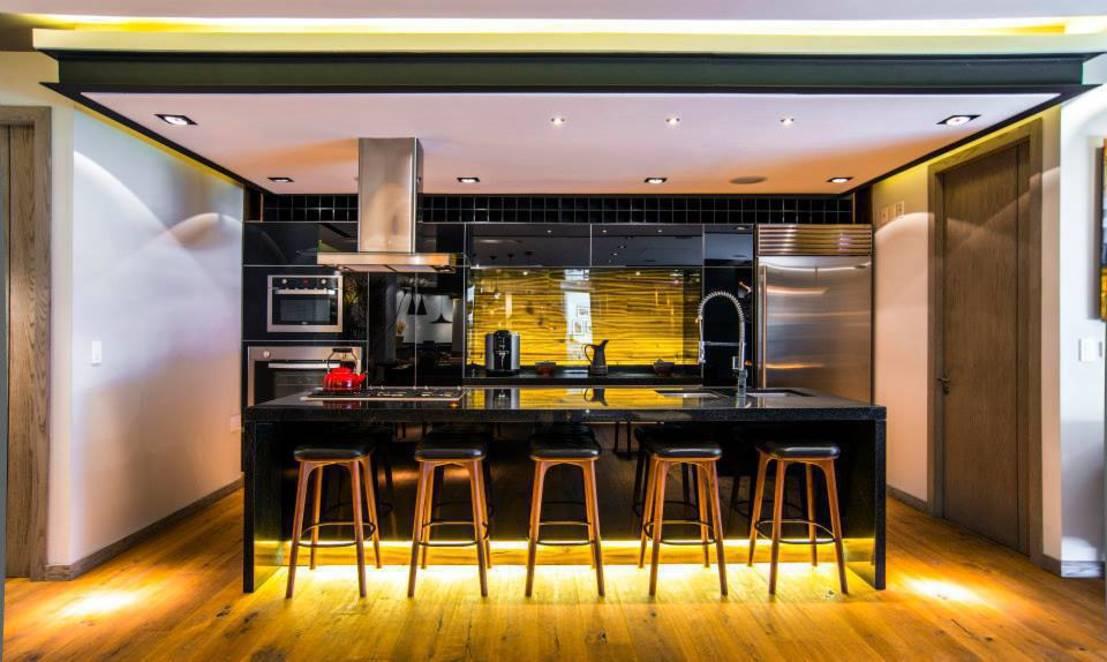 Invito muebles minimalistas interiorismo decoraci n de - Bancos para cocina modernos ...