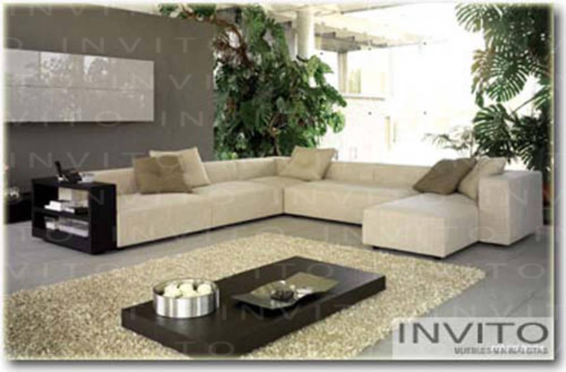 Invito muebles minimalistas interiorismo decoraci n de - Sillones de esquina ...