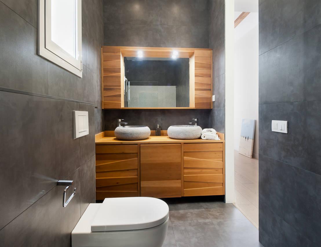 Decoracion De Interiores Baños Minimalistas:Medium Size Bathroom Designs