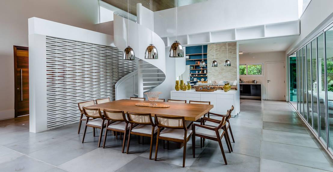 Invito muebles minimalistas interiorismo decoraci n de for Sillas comodas comedor